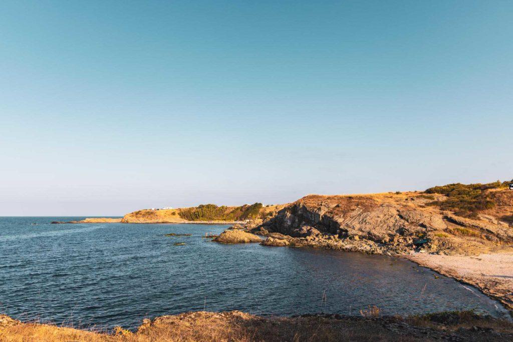 Schwarzmeerküste bei Tsarevo - Mit dem Wohnmobil nach Bulgarien ans Schwarze Meer