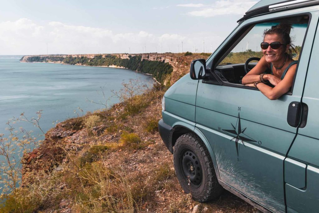 Wildcamping auf den Klippen am Kap Kaliakra, Schwarzes Meer Bulgarien - Mit dem Wohnmobil nach Bulgarien ans Schwarze Meer