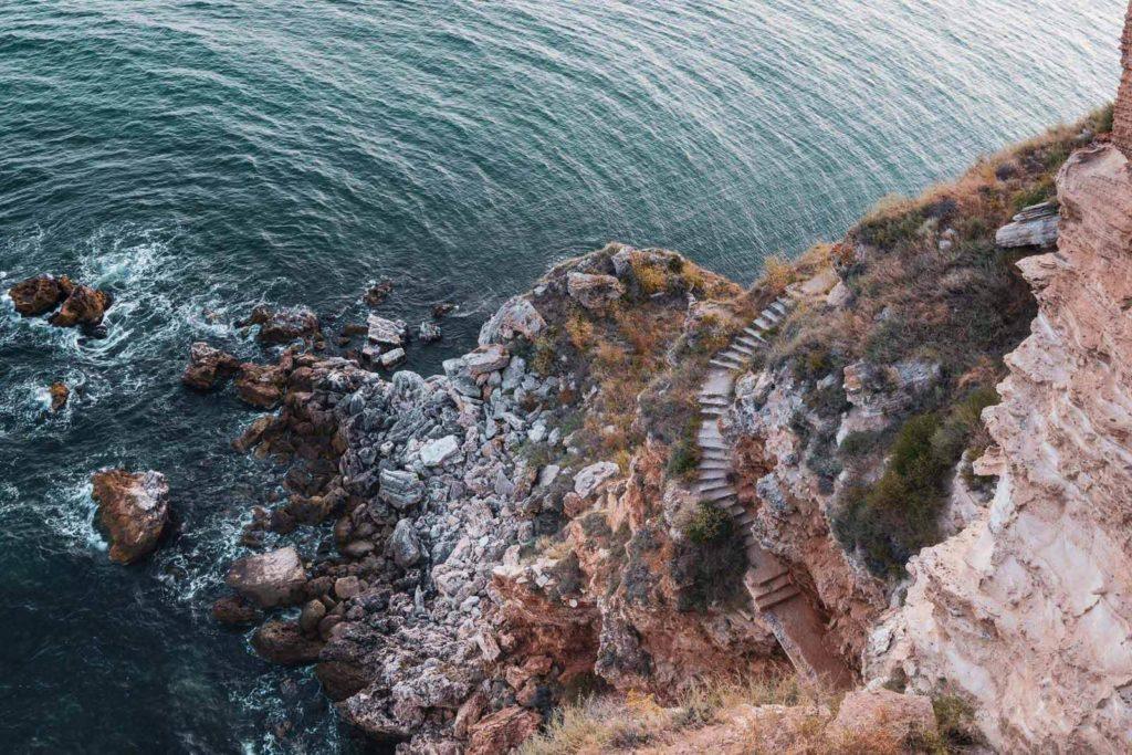 Blick auf das Kap Kaliakra - Mit dem Wohnmobil nach Bulgarien ans Schwarze Meer