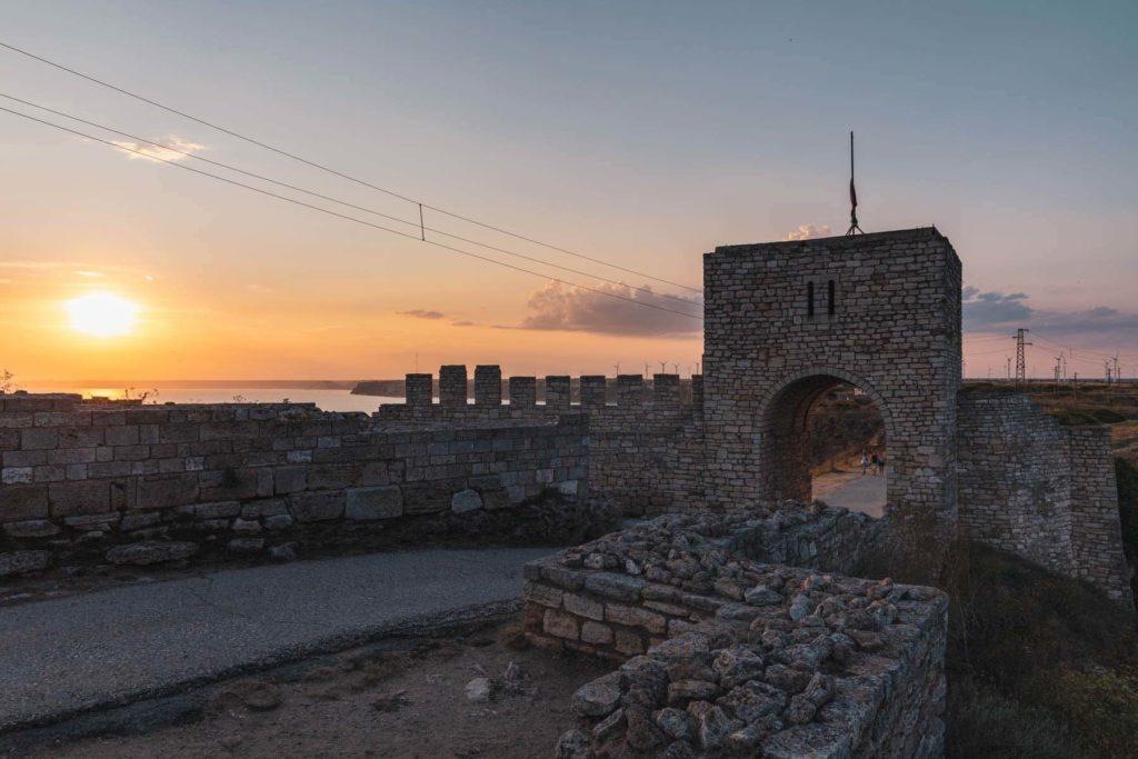 Festung Ka Kaliakra Schwarzes Meer Bulgarien - Mit dem Wohnmobil nach Bulgarien ans Schwarze Meer