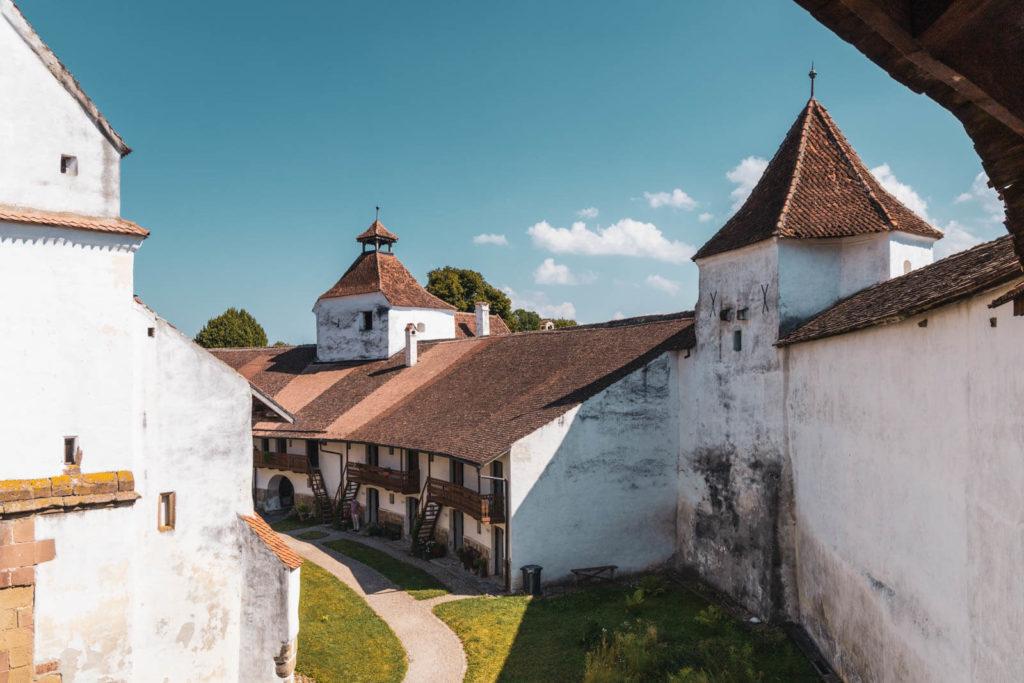 Kirchenburg Hărman, Honigberg - Rumänien Roadtrip mit dem Wohnmobil