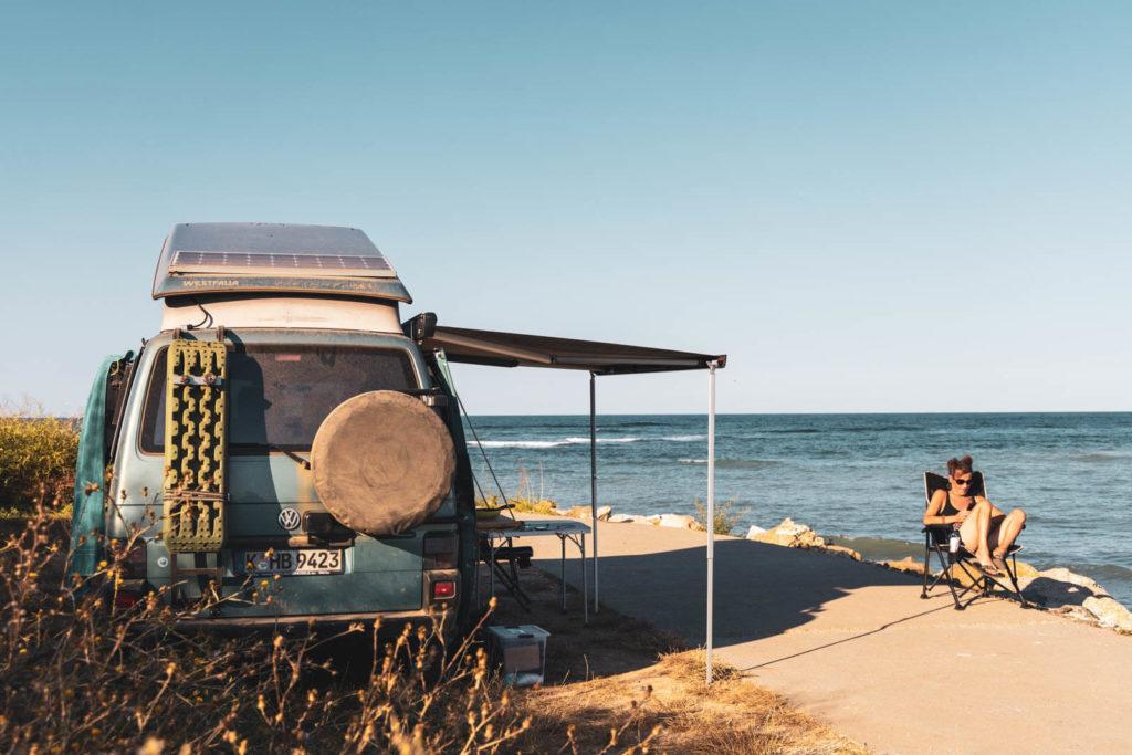 Wildcamping am Schwarzen Meer - Rumänien Roadtrip mit dem Wohnmobil