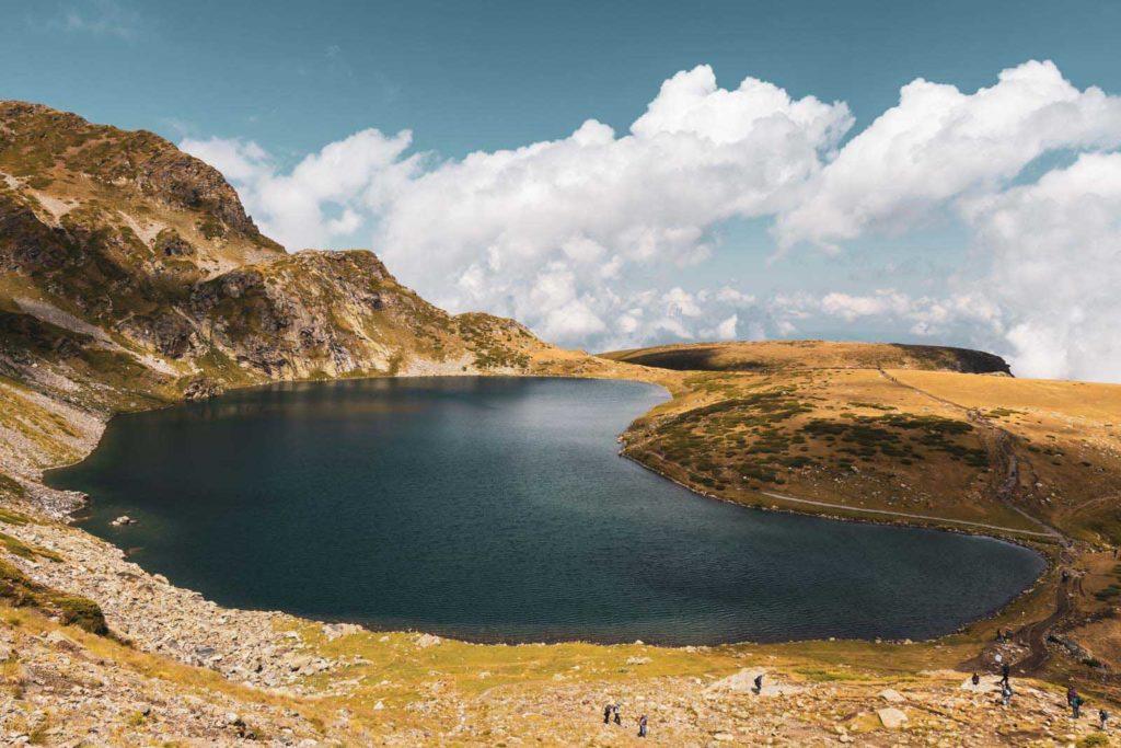 The Kidney Lake - Sieben Rila Seen, Bulgarien