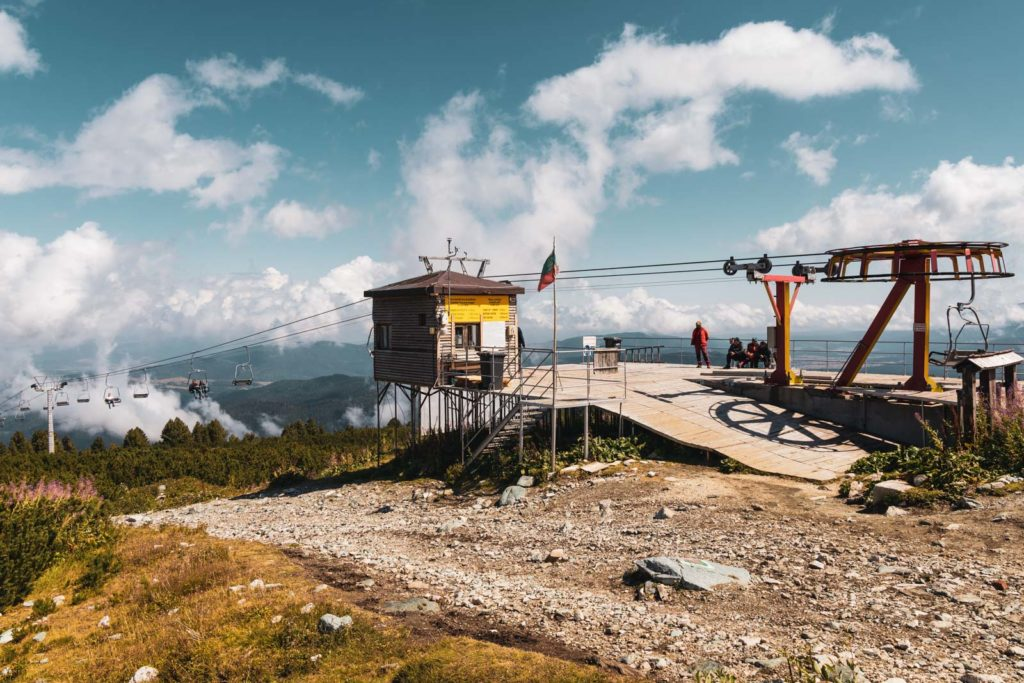 Sessellift Bergstation Rila Nationalpark - Sieben Rila Seen Wanderung