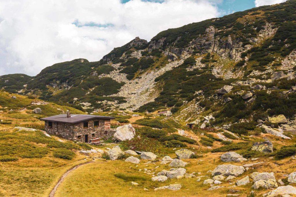 Berghütte im Rila Nationalpark, Bulgarien