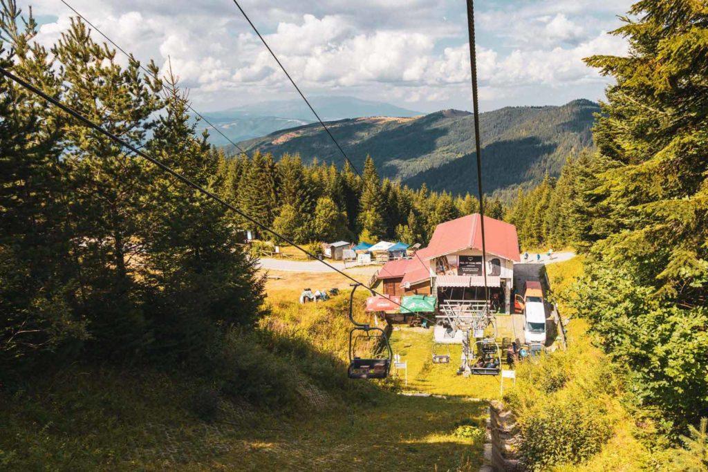 Sessellift Talstation Rila Nationalpark